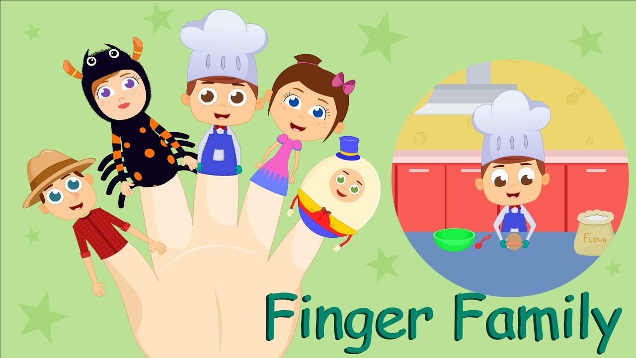 Finger Family Nursery Rhyme Version   Super Toddlers   Songs For Children