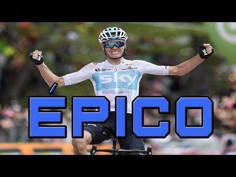 Froome ataca a 80 kms, gana la etapa y es líder/ Giro de Italia 2018 - Etapa 19