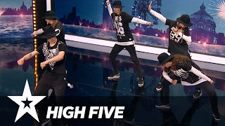 High Five | Danmark Har Talent 2017 | Audition 5