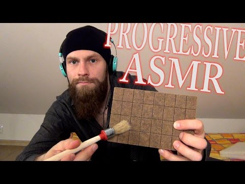 Progressive ASMR Session (From SLOW to FAST, From GENTLE to AGGRESSIVE)
