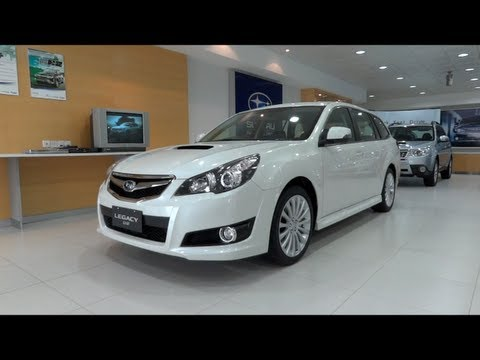 2012 Subaru Legacy Wagon 2.5 GT AWD Start-Up and Full Vehicle Tour