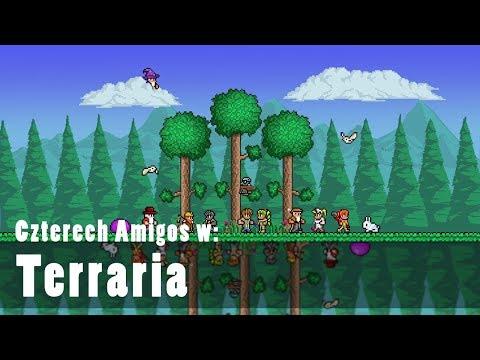 Czterech Amigos w: Terraria (18) GOLEM raz! a może dwa? w/ Undecided Tomek Piotrek