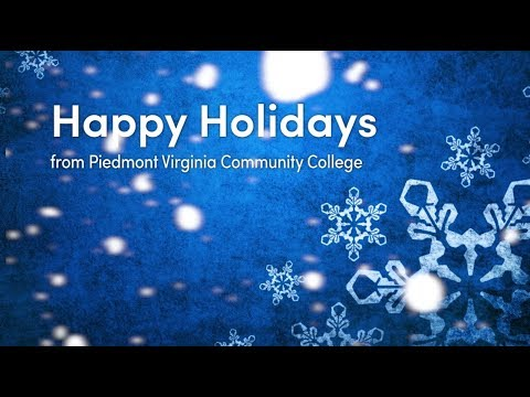 Happy Holidays 2017 from Piedmont Virginia Community College
