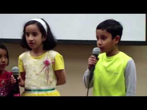 Sharadambaram charu chandrika sung by Rishabh Nambiar, Rishika Nambiar & Devki nambiar,