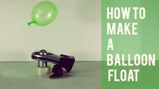 INFINITE  FLOATING BALLOON - How To Make A Balloon Fly Forever (Experiment DIY)