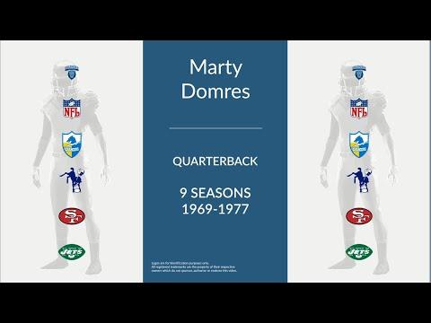 Marty Domres: Football Quarterback