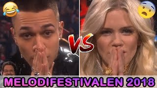 Liamoo VS Ida Redig - Melodifestivalen 2018 - *FINAL*  (Last breath VS Allting som vi sa)