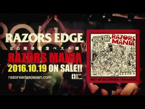 "RAZORS EDGE 20th ANNIVERSARY ""RAZORS MANIA"" MV"