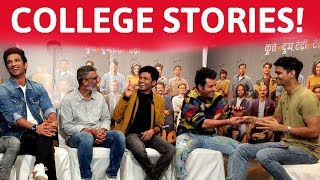 Sushant Singh Rajput and the team of Chhichhore go back to their college days   BollywoodLife