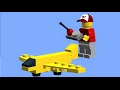 LEGO PLANE TUTORIAL how to build a LEGO mini plane