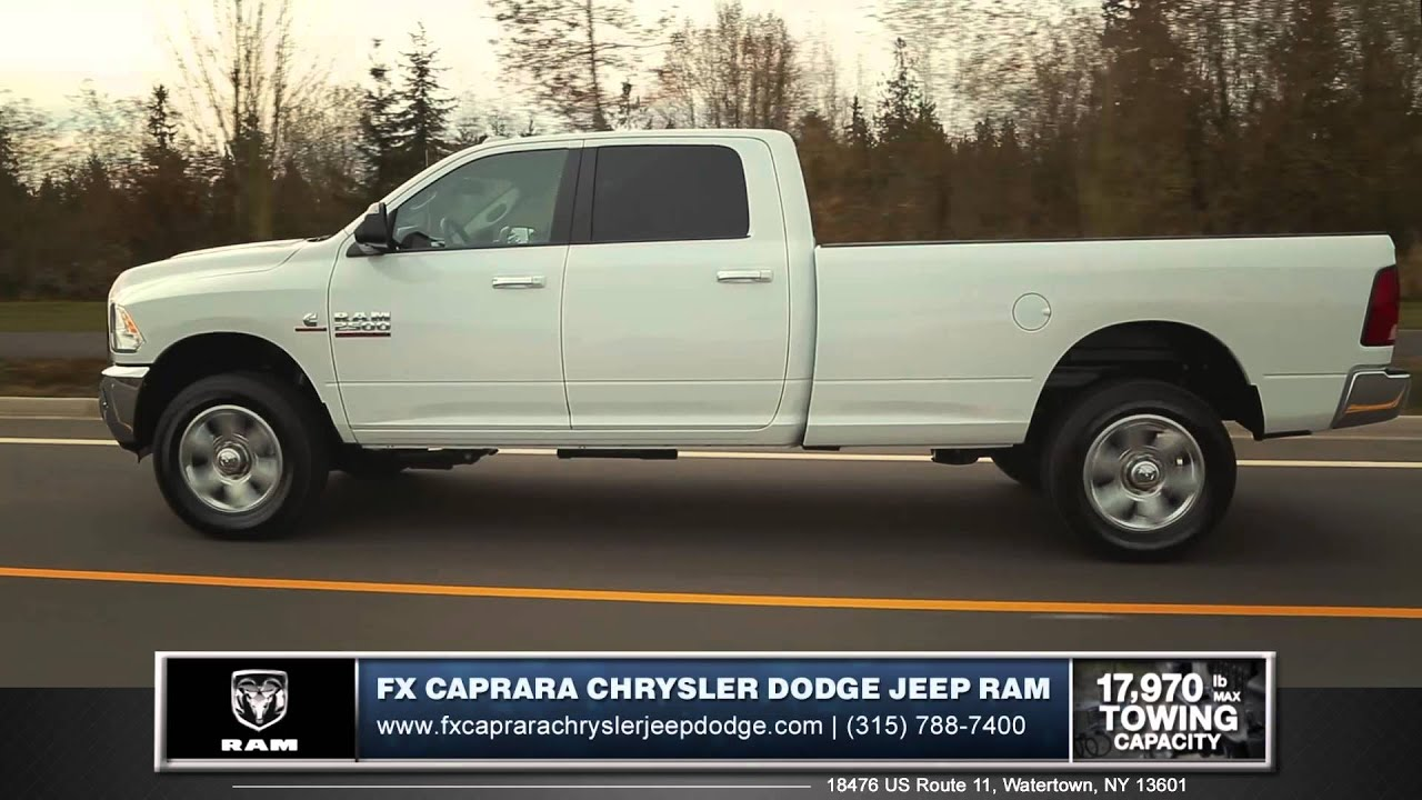 2015 ram 2500 review fx caprara in watertown ny youtube. Black Bedroom Furniture Sets. Home Design Ideas