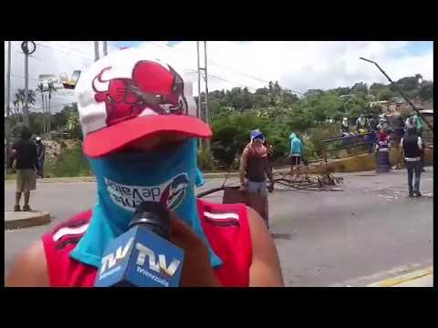 Guardia Nacional reprimió a manifestantes que protestaban contra la crisis de Venezuela