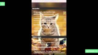 Обзор - Живые Обои Кот - для Андроид