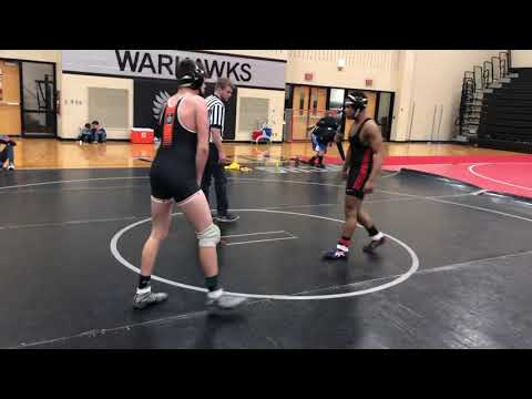 Melvin Patterson 152 Westerville Central High School Open Tournament Match #2 3/10/19