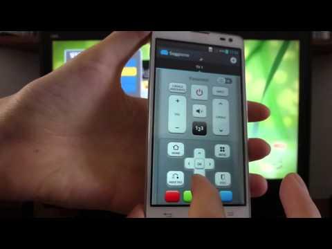 Focus QuickRemote su LG Optimus L9 II ita by AppsParadise