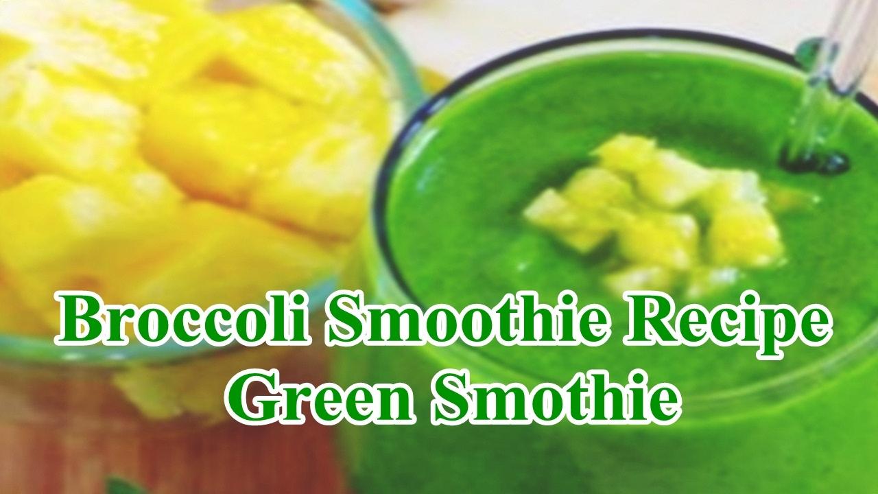 smoothie broccoli recept