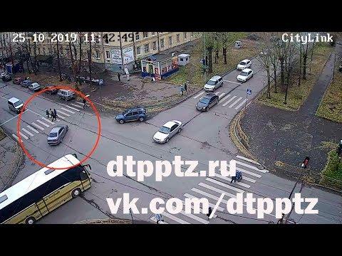Сбили пешехода на Первомайском проспекте