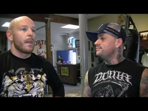 Jason Ellis and Benji Madden Kick The Sh*t Out of Reporter! (Ellis Trashes Brock Lesnar)