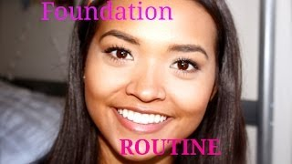 My Current Foundation Routine! ft. Josie Maran Products Thumbnail