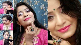 💅घर पर मेकअप कैसे करें?💖Makeup For Wedding /Party/Reception In Easy Steps💄Complete Makeup Tutorial😍
