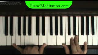 Lord, I Give You My Heart - How to Play Contemporary Christian Piano - pianomeditation.com