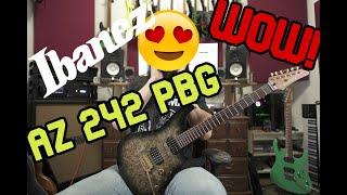 Ibanez Premium AZ242PBG - Review