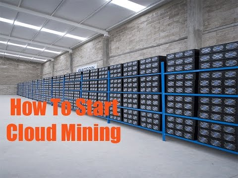 cloud mining bitcoins