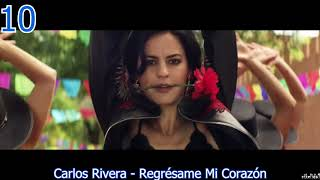 TOP 10 LATIN SONGS  (AUGUST 26, 2018)