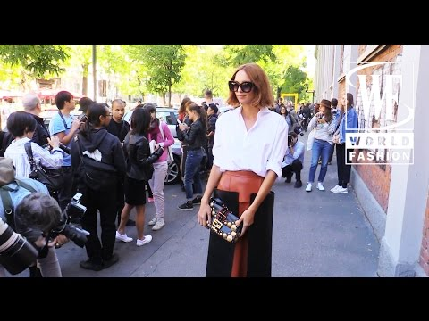Street Style Milan Fashion Week 1 Youtube