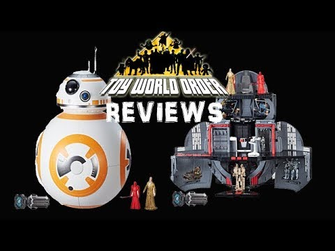 Star Wars Force Link BB-8 2 in 1 Mega Playset REVIEW