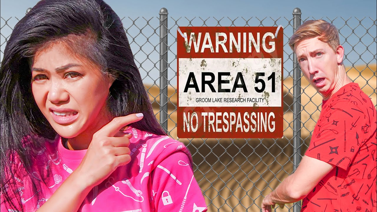 Download SNEAKING into AREA 51 To Find UFO's, Aliens, & the PZ Killer