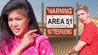 SNEAKING into AREA 51 To Find UFO's, Aliens, & the PZ Killer