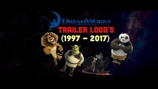 Dreamworks Trailer Logo's (1998 - 2017)