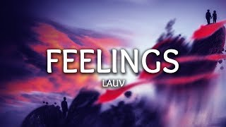 Cover images Lauv ‒ Feelings (Lyrics)