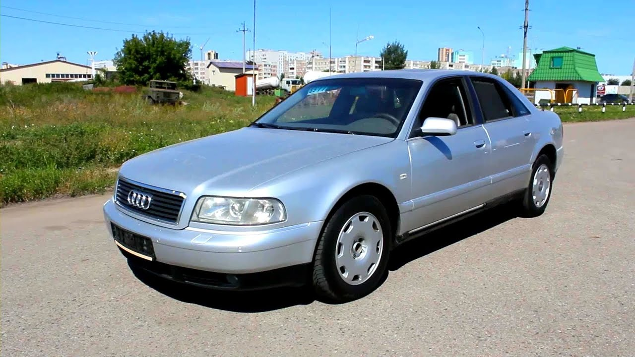 2000 Audi A8. In depth tour, Test Drive. - YouTube