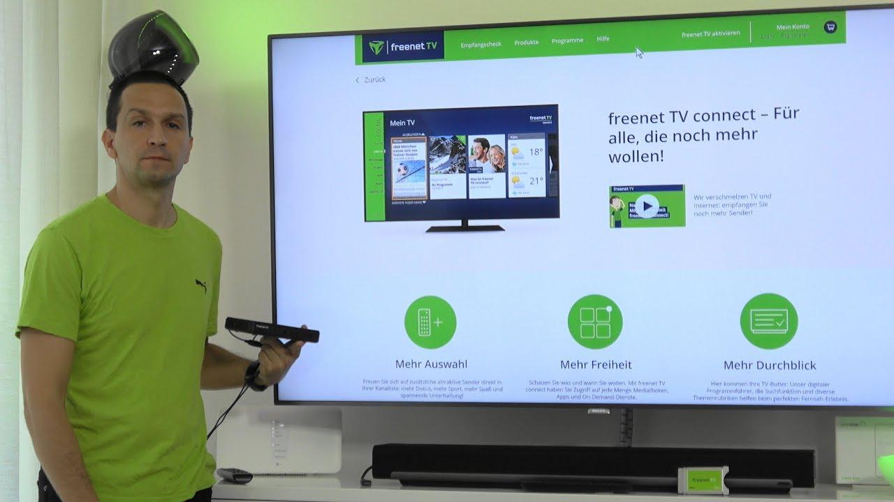 Freenet Tv Connect Hilfe Bei Problemen Mit Der Einrichtung Youtube