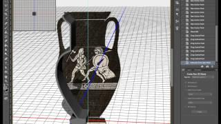 3d в фотошопе - объекты вращения