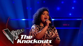 Nicole Dennis's 'Because Of You' | The Knockouts | The Voice UK 2019