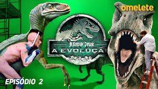 A REVOLUÇÃO DOS DINOSSAUROS | Jurassic Park: A Evolução #2
