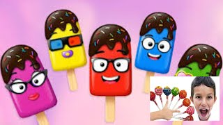All Colors Learn Funny Stefan Magic Toys Ice Cream Finger Family Song