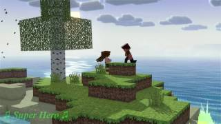 [NIGHTCORE]♫Super Hero - Cao Bá Hưng,SR(Hoaprox Remix)♫(Minecraft Parody)