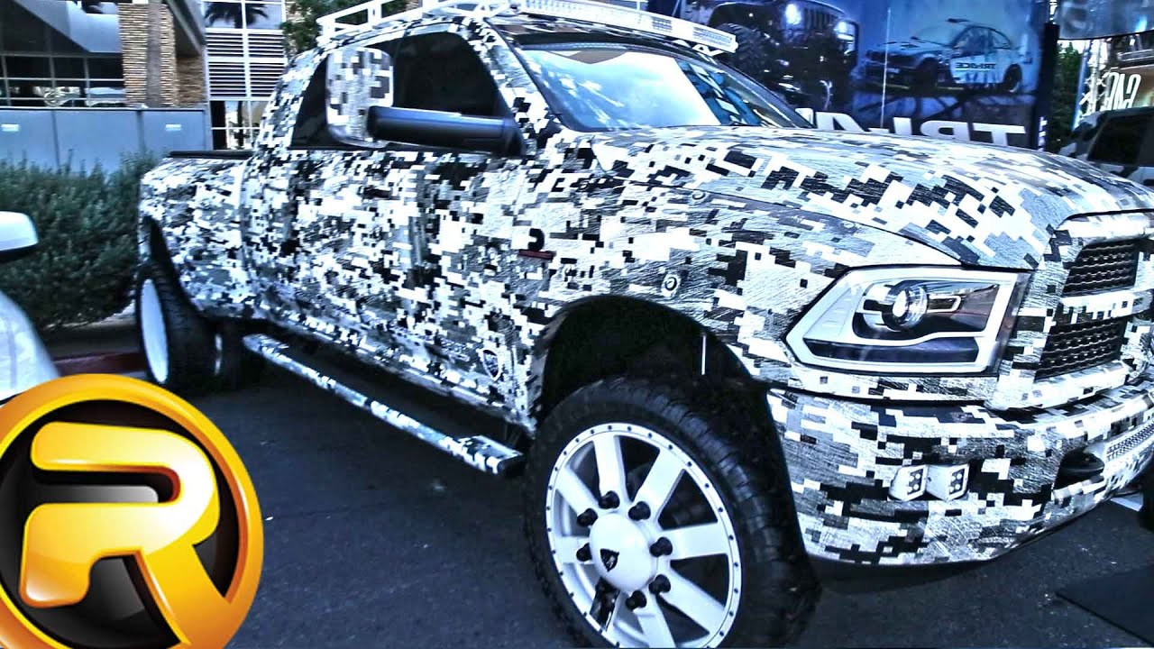 Dodge Ram Trucks >> Top Dodge Ram Trucks Of Sema Show 2015 Youtube