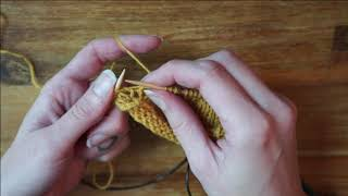Fabel Knitwear - German Shortrow Tutorial