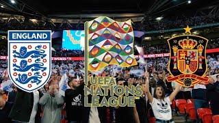 Англия - Испания, Лига наций