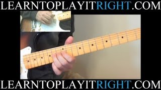 Guitar Licks - Lesson 1 Stevie Ray Vaughan (Fast and Slow)