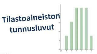 Tilastoaineiston tunnusluvut (MAB5)