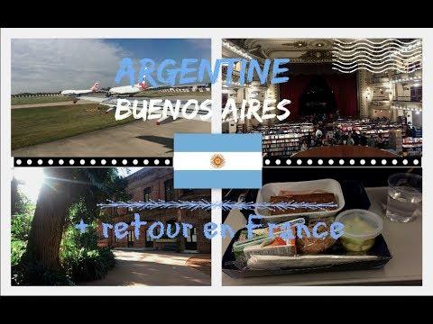TRAVEL DIARY   Buenos Aires et retour en France ✈🇦🇷
