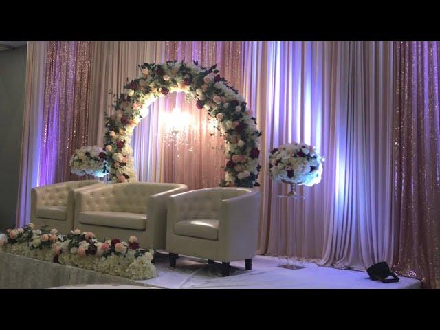 DIY- Stage setup , Wedding decor, wedding event decor