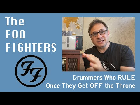 The Foo Fighters & drummers who get off the throne to lead the band