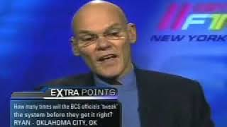 James Carville on the BCS